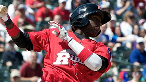 Jurickson Profar's three-hit performance raised his average to .167.