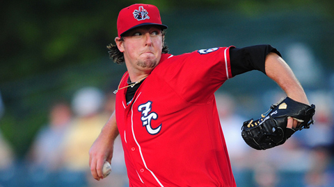 Deck McGuire is 1-2 with a 5.94 ERA in three starts for New Hampshire.