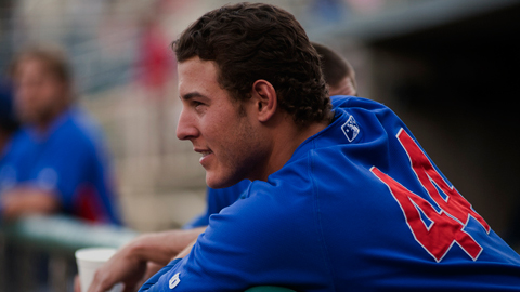 Anthony Rizzo has hit safely in 13 of his first 17 games this season.